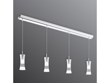 4 lichtbronnen LED hanglamp...