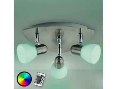3-lichts plafondlamp Enea-C...