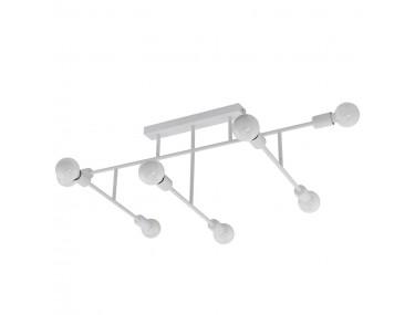 8-lamps plafondlamp...