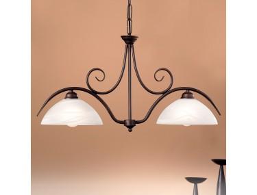 2-lichts hanglamp JANA met...