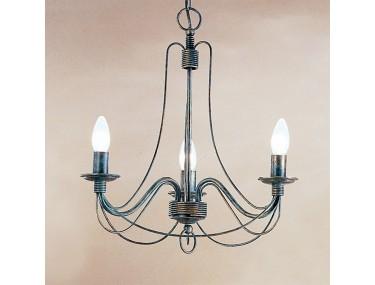 3-lichts hanglamp CLARA in...