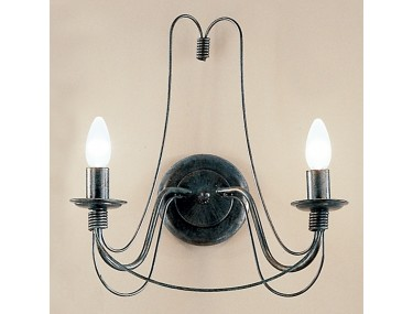 2-lichts wandlamp CLARA in...