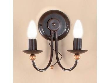 2-lichts wandlamp GARDA in...