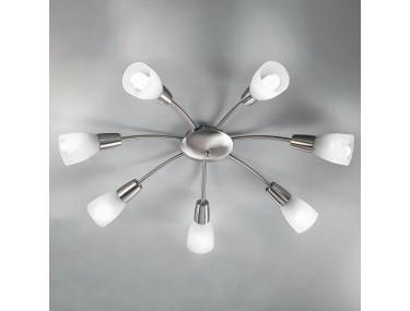 7-lichts plafondlamp...
