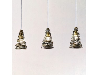 3-lichts hanglamp FASCIATA...