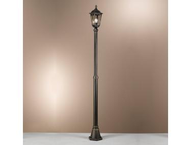 1-lichts lantaarnpaal...