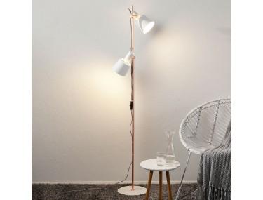 2-lamps vloerlamp Haldar in...