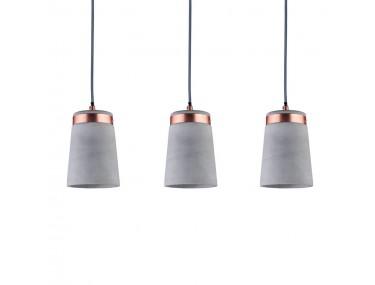 3-lamps hanglamp Stig met...