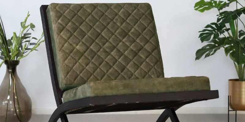 velvet fauteuil
